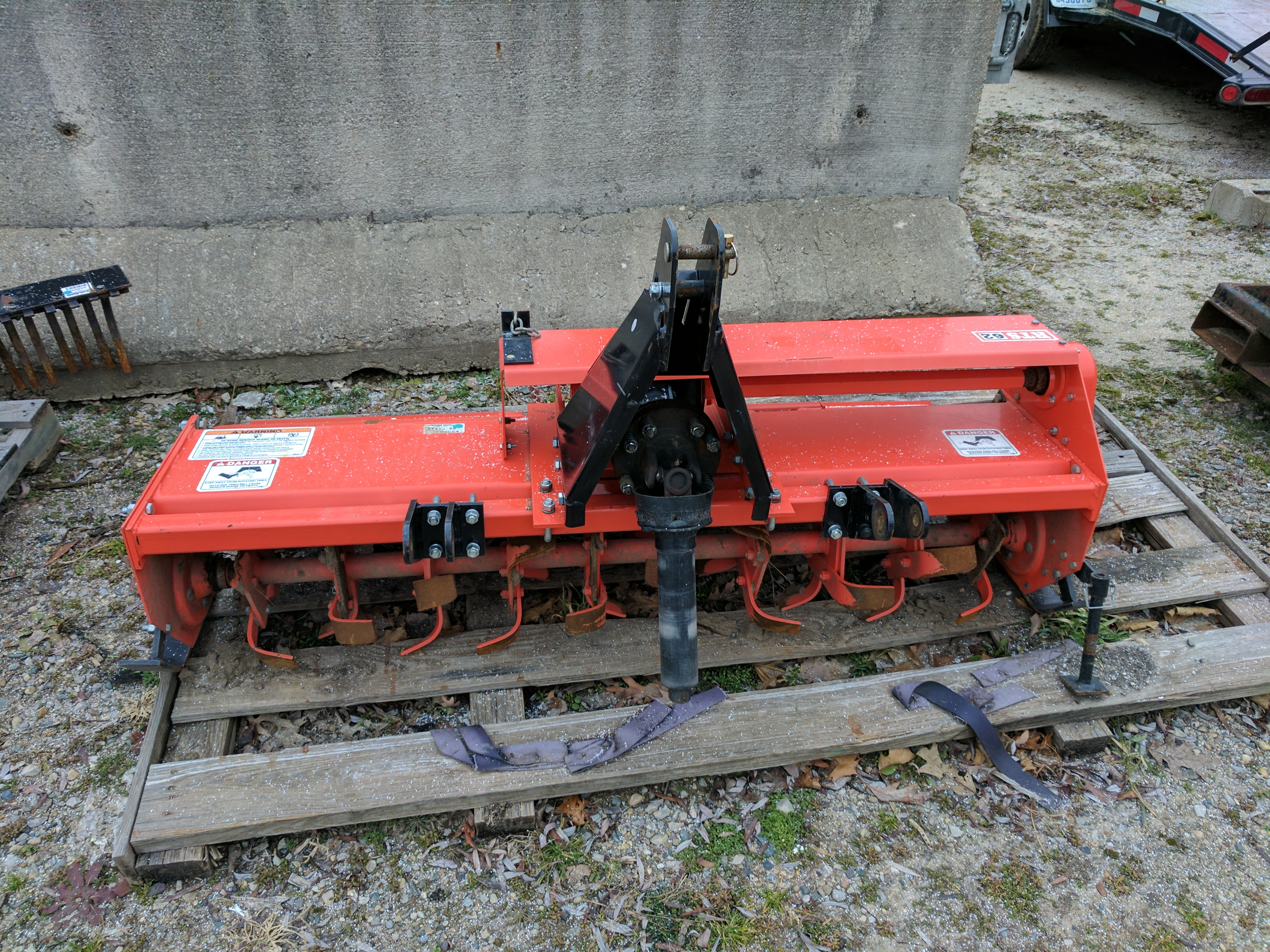 Bush Hog 62 Quot Rotary Tiller Capital Equipment Dealer