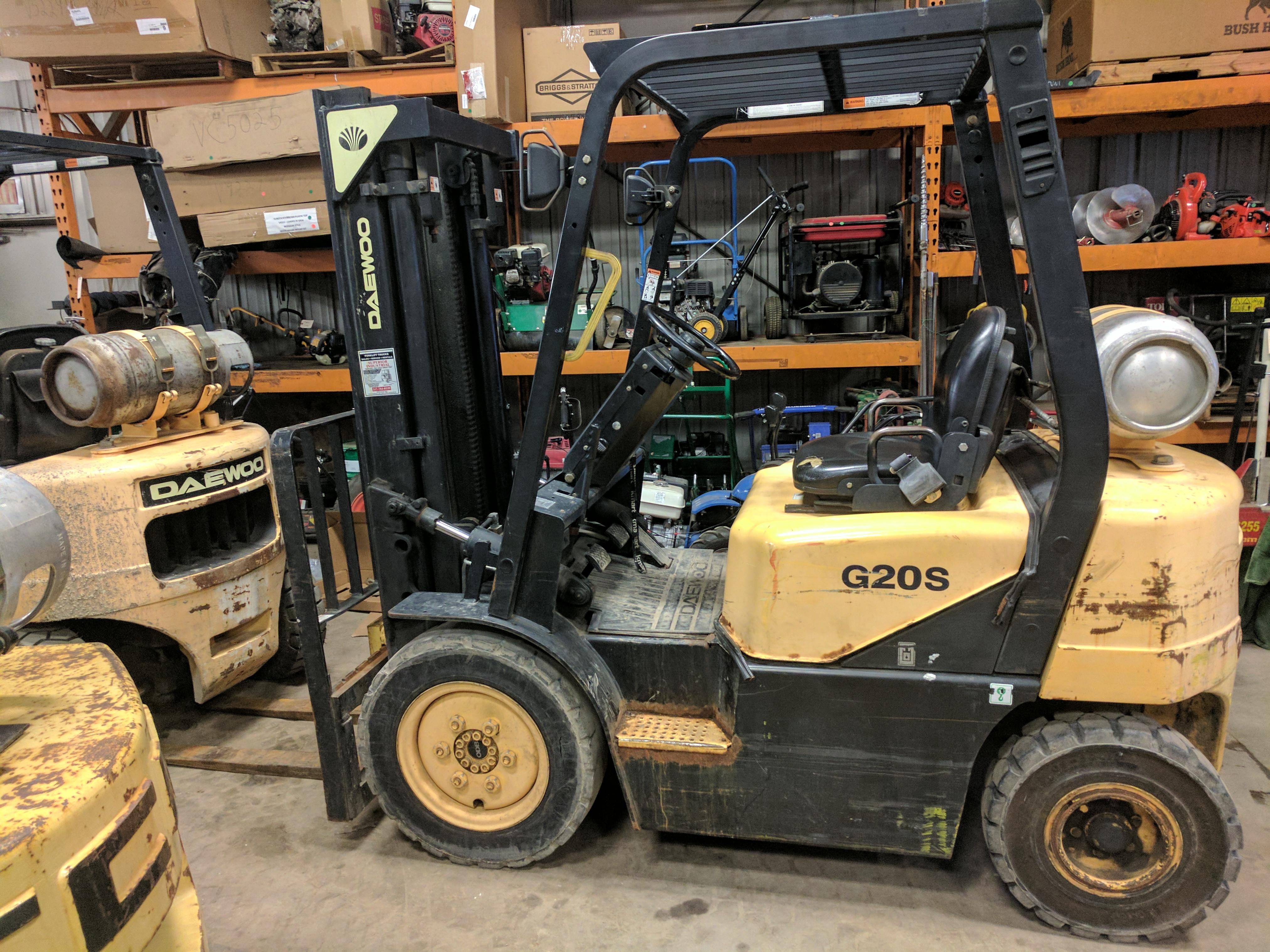 Daewoo G20S Forklift - Capital Equipt Dealer